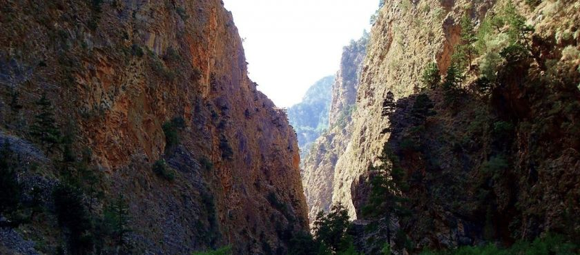 The gorge of Samaria
