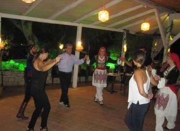 Traditional Cretan night in our Hotel!